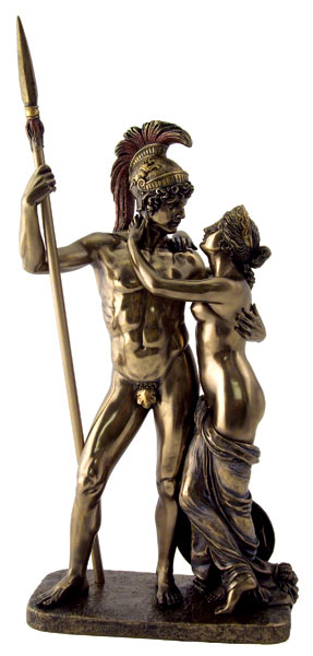 Canova MARS & VENUS Greek Roman Mythology Lovers Statue ...